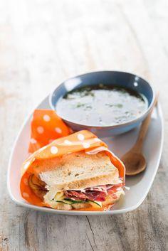 Soup and Sandwich, winter binomial