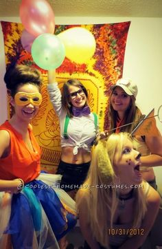 Coolest Up! Girls Group Costume ... This website is the Pinterest of costumes
