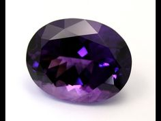 #1 Faceting of a 48 carat Shaver Lake Amethyst - YouTube