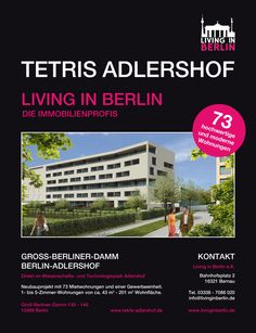 Living in Berlin - Tetris Adlershof - http://www.exklusiv-immobilien-berlin.de/aktuelle-bauprojekte-berlin/living-berlin-tetris-adlershof/005560/