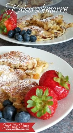 Kaiserschmarrn, aka Torn or Scrambled Pancakes, are among those homemade pancakes recipes that will remind you of Oma's kitchen. A real traditional German pancake dish that actually stems from Austria. Check out http://www.quick-german-recipes.com/kaiserschmarrn.html for this easy recipe