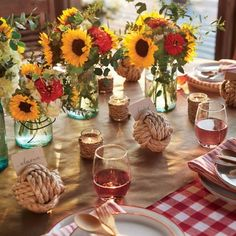 Shrimp Boil Party: Rustic Decor