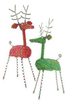 Beaded African Reindeer