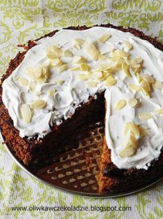 Oliwka w czekoladzie: Dietetyczne ciasto marchewkowe Sweet Tooth, Muffins, Food And Drink, Low Carb, Cooking, Bakken, Kitchen, Muffin, Brewing