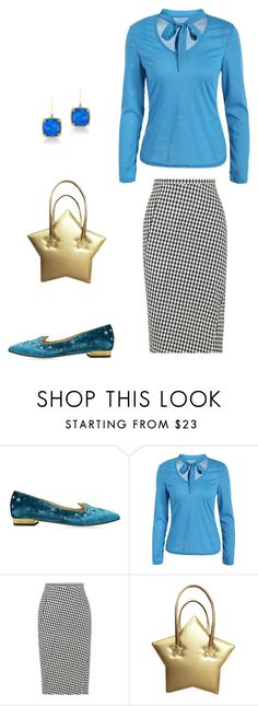 """""""Untitled #3653"""" by carlafashion-246 ❤ liked on Polyvore featuring Charlotte Olympia, Altuzarra and Anne Sisteron"""