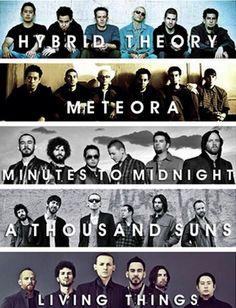 LOVE them all! Linkin Park