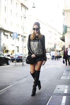 THIGH HIGH BOOTS, hoog hoger hoogst - Fashion Brains