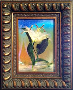 """""""White Lily"""" by Scott Peck available at Columbine Gallery on Amazon Fine Art"""