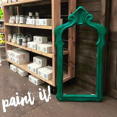 Do you love painted furniture and accessories as much as we do? Don't be scared! Give it a try. Create a beautiful custom piece for your home with our Blackberry House Paint, which was developed by Murfreesboro interior designer Polly Blair specifically for painting furniture and home decor. Give it a try! #ConsignToDesign