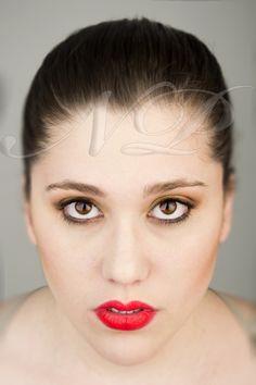 Maquillaje de belleza.  Modelo: Alexandra Cerro  Maquillaje: Naroa Poulin  Fotografía: Ivan Caponio