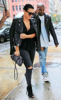 Nothing to see: Despite the announcement of Kim's second pregnancy, no bump was visible ye...