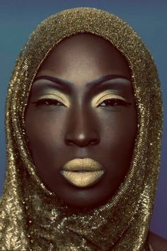 Golden Goddess- and sometimes like this.
