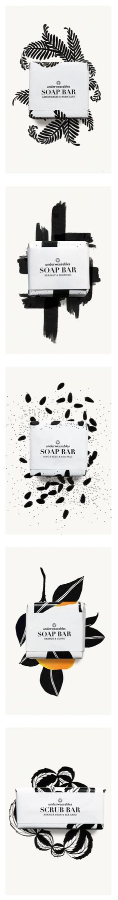 underwearables SOAP BAR #packaging