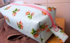 Keep your toiletries organised with a handy washbag.