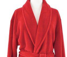 Sheepy Fleece Crimson Robe