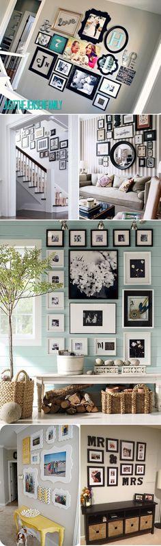 living room wall/hallway