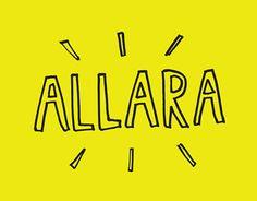 """Consulta este proyecto @Behance: """"Allara Branding"""" https://www.behance.net/gallery/23708873/Allara-Branding"""