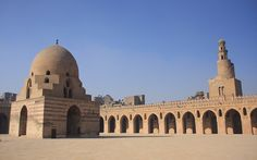 world's most beautiful mosques. Ibn Tulun Mosque, Egypt
