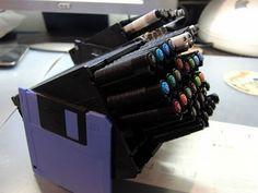 recyclage boîte de disquette - Recherche Google