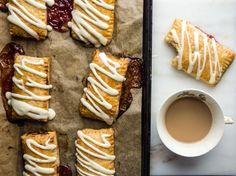 Raspberry Toaster Strudel recipe on Food52