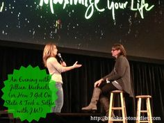 An Evening with Jillian Michaels (or How I Got On State & Took a #selfie with JM!)