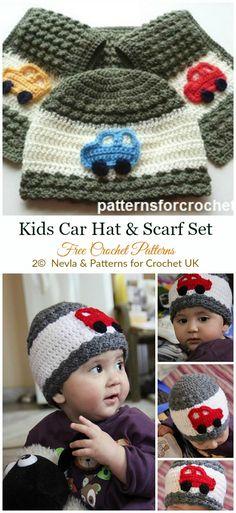 My Infobaby hats pinquin · Crochet Kids Car Hat Scarf Crochet Free Pattern  -  Crochet   Beanie  Hat b1cf379ed26e