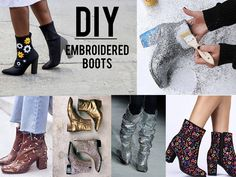 Fashion Bubbles - Moda como Arte, Cultura e Estilo de Vida Customização de botas - Aprenda a fazer em casa 12 modelos tendência do Inverno 2017