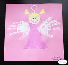 handprint angel | Meet the Dubiens