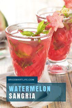 Party Ready Watermelon Moscato Sangria Recipe