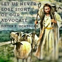 Christ is our support you can only move forward and upward when you have your life facing Him! #PresUchtdorf #LDS #Mormon #LDSconf