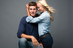 Matt Clayton Photography: Denim & Blues // with Brad and Hailey Devine