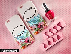 #case #cover #etui #phone #iphone #nails #red #funnycase