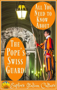 The Papal Swiss Guard: a police force like no other in the world.  If you're in Rome you'll be sure to see them.  Here's what they do, where they come from and where the best places for a good photo-call are.