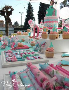 Little Mermaid Birthday Party Ideas | Photo 1 of 26 | Catch My Party