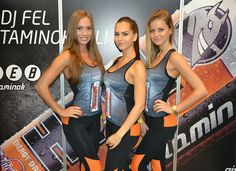 Nouba girls unleashing the power with Hell Energy's Multi-Vitamin limited edition!