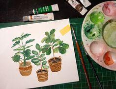 🌱 plant illustration, watercolor Plant Illustration, Watercolor, Plants, Watercolor Painting, Flora, Plant, Watercolors, Planting, Watercolour