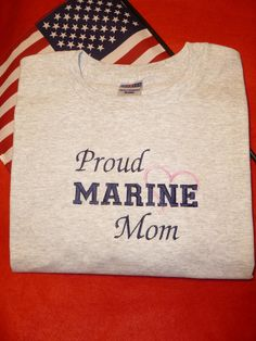Proud Marine Corps Mom