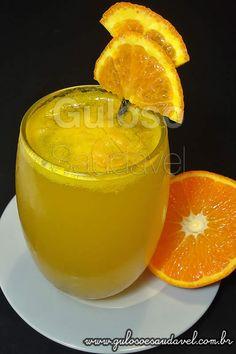Suco de Tangerina Gaseificado » Bebidas, Receitas Saudáveis » Guloso e Saudável