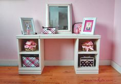 Ana White | Build a Play Vanity | Free and Easy DIY Project and Furniture Plans.  PLANS TO BUILD!!!