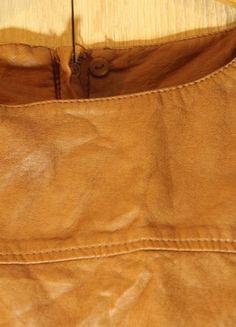 Kup mój przedmiot na #vintedpl http://www.vinted.pl/damska-odziez/krotkie-sukienki/20390425-koniakowa-sukienka-z-ekoskory-hm-r40