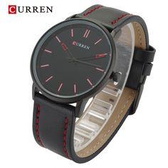 $25.98 (Buy here: https://alitems.com/g/1e8d114494ebda23ff8b16525dc3e8/?i=5&ulp=https%3A%2F%2Fwww.aliexpress.com%2Fitem%2F2016-newest-Luxury-Fashion-Casual-Watches-NAVIFORC-Quartz-Watch-Men-Wristwatch-relogio-masculinoNF9074%2F32665567656.html ) Curren Brand Luxury Casual Sport Watch Men Genuine leather/Alloy Urltra Thin Case Fashion Male Watches Quartz-Watch,W8233M for just $25.98