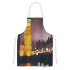 East Urban Home Westminster at Night by Laura Evans Artistic Apron