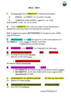 analisi logica-soggetto.predicato-complementi