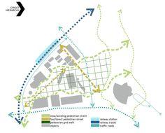 Image 8 of 18 from gallery of network / Ivana Andjelic + Nemanja Kocic + Natalija Usendic. Site Analysis Architecture, Architecture Graphics, Landscape Architecture, Map Design, Layout Design, Web Layout, Website Layout, Traffic Analysis, Mobile Ui Patterns