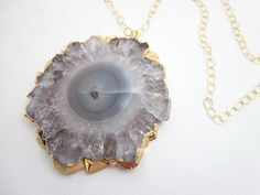Healing Jewelry for Women -- Large Gemstone Pendant Necklace -- Large Amethyst Jewelry -- Purple Healing Pendant --Healing Crystals & Stones by CambaJewelry on Etsy https://www.etsy.com/listing/560720583/healing-jewelry-for-women-large-gemstone