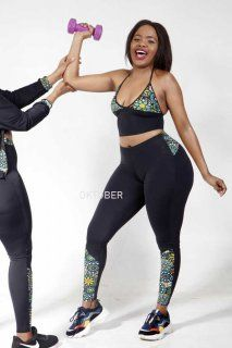 OKTOBER.CO.ZA - AFRICAN LEGGINGS Sportswear, Active Wear, Sporty, African, Lingerie, Leggings, Lady, How To Wear, Outfits