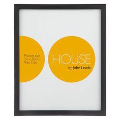 Buy House by John Lewis Basic Photo Frame Range Online at johnlewis.com