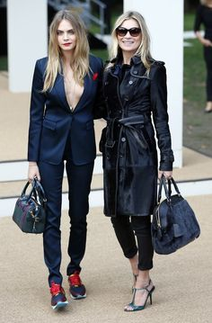335f3776de5436 Cara and Kate during London Fashion Week (Photo  Stefan Wermuth Reuters)  Кара