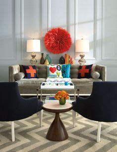 Cultured Home --- El glamour más simpático. Jonathan Adler...