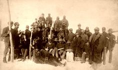 Buffalo Soldiers - Proudly Wearing a Badge of Honor